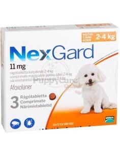 Nexgard 2 - 4 Kg