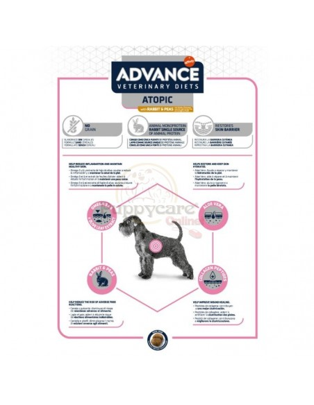 Advance VD Atopic Alimento Seco Cão
