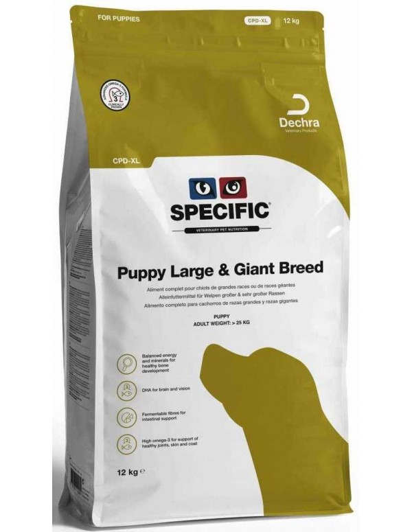 Specific CPD-XL Puppy Large & Giant Breed 12 Kg Alimento Seco Cão