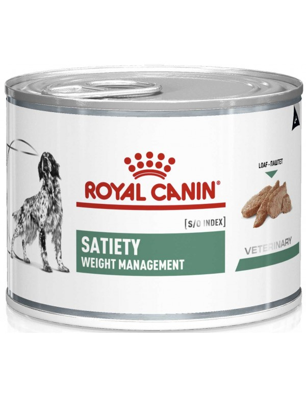 Royal Canin VD Satiety Weight Management 195 Gr Alimento Húmido Cão