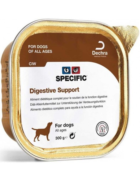 Specific VD CIW Digestive Support 300 Gr Alimento Humido Cão