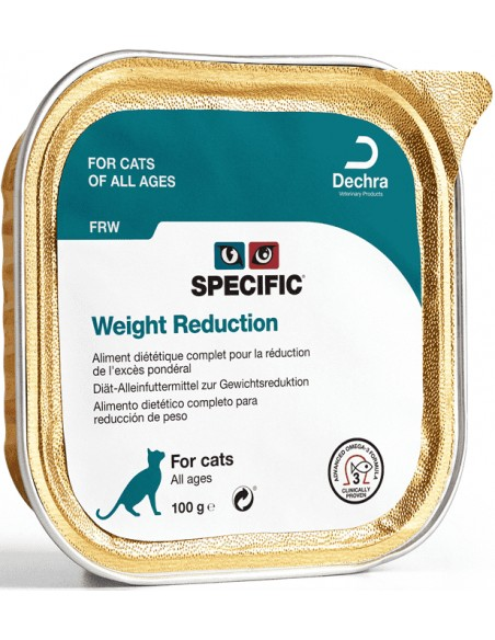 Specific VD FRW Weight Reduction Alimento Húmido Gato