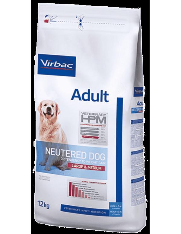 Virbac HPM Adult Neutered Dog Large & Medium Alimento Seco Cão