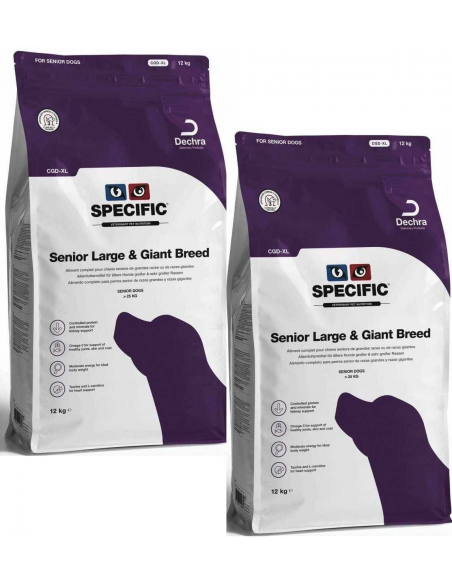 Specific CGD-XL Senior Large & Giant Breed 2X12 Kg Alimento Seco Cão