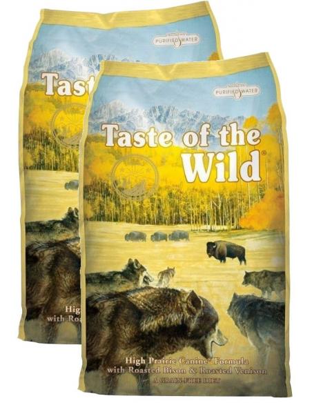 Taste of The Wild High Prarie com Bisonte Alimento Seco Cão