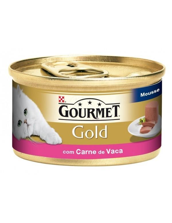 GOURMET® Gold Mousse com Carne de Vaca 85g