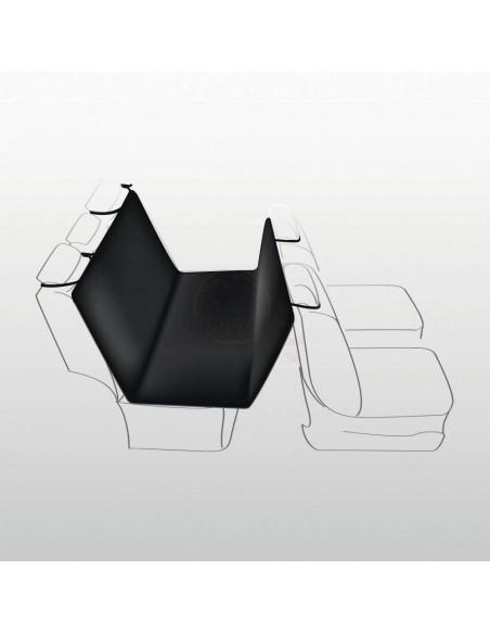 Cobertura em Poliester p/ Estofos Auto 145X160 Cm (Preto)