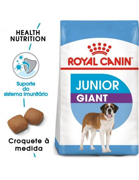Royal Canin Size Health Nutrition Giant Júnior Alimento Seco Cão