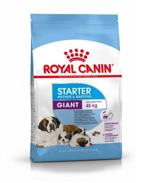 Royal Canin Size Health Nutrition Giant Starter Alimento Seco Cão