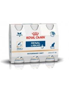Royal Canin Gato Renal  Liquid 3X200 ML