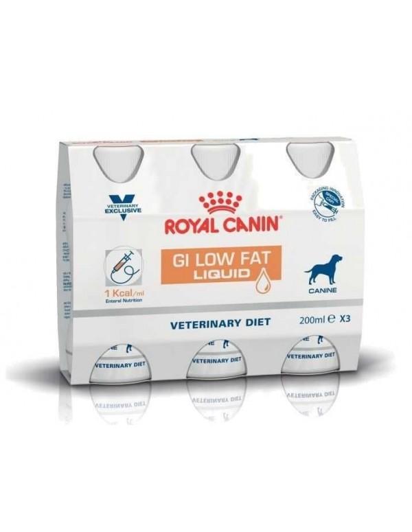 Royal Canin Gastrointestinal Low Fat Liquid 3X200 ML