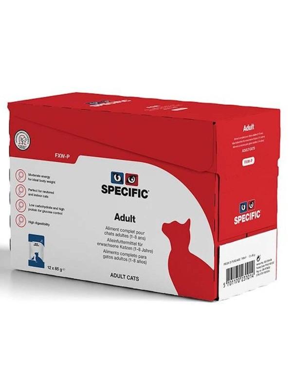 Specific FXW-P Adulto Alimento Humido Gato