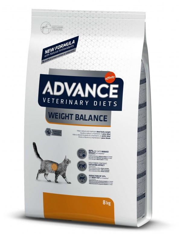 Advance VD Weight Balance Alimento Seco Gato