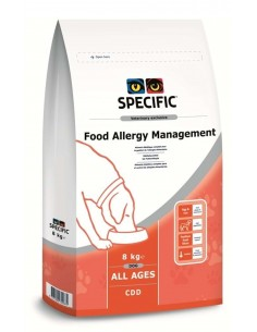 Specific VD CDD Food Allergy Management Alimento Seco Cão