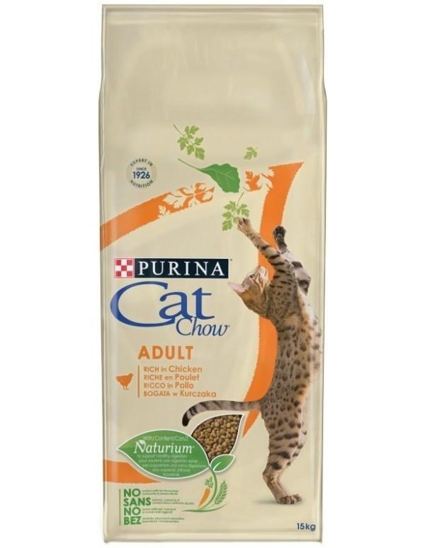 Cat Chow Gato Adulto Frango Alimento Seco Gato