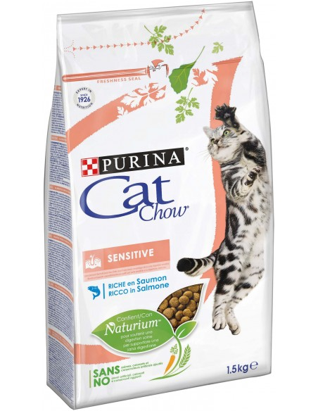 Cat Chow Sensitive Alimento Seco Gato