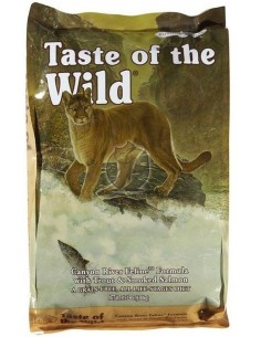 Taste Of Wild Canion River Truta Alimento Seco Gato