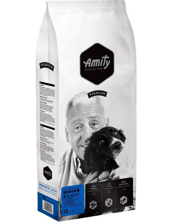 Amity Premium Senior e Light Alimento Seco Cão