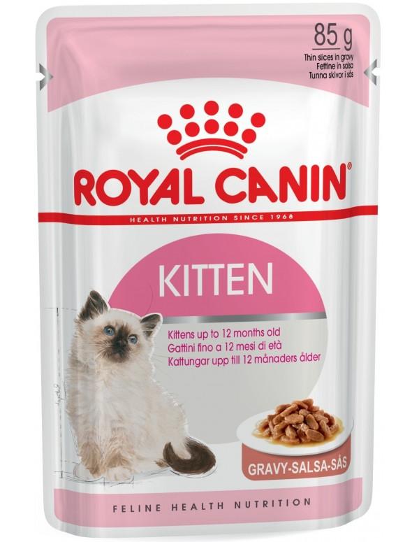 Royal Canin Kitten Instinctive Alimento Húmido Gato Saquetas (Molho)