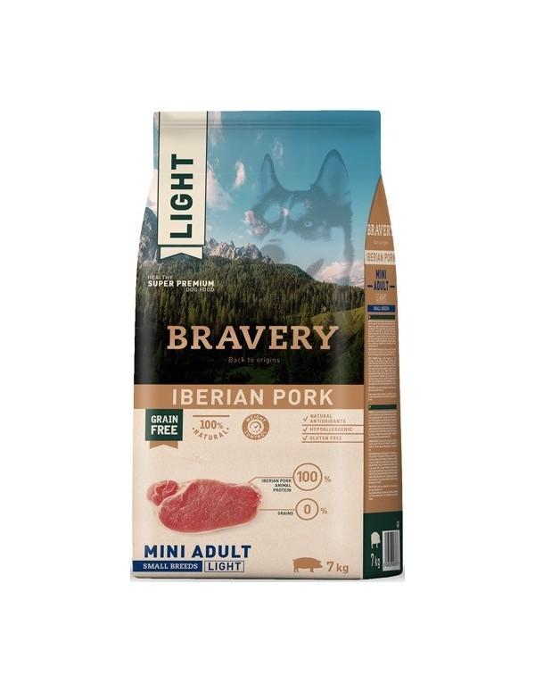 Bravery Adult Mini Light Pork (Grain Free) Alimento Seco Cão
