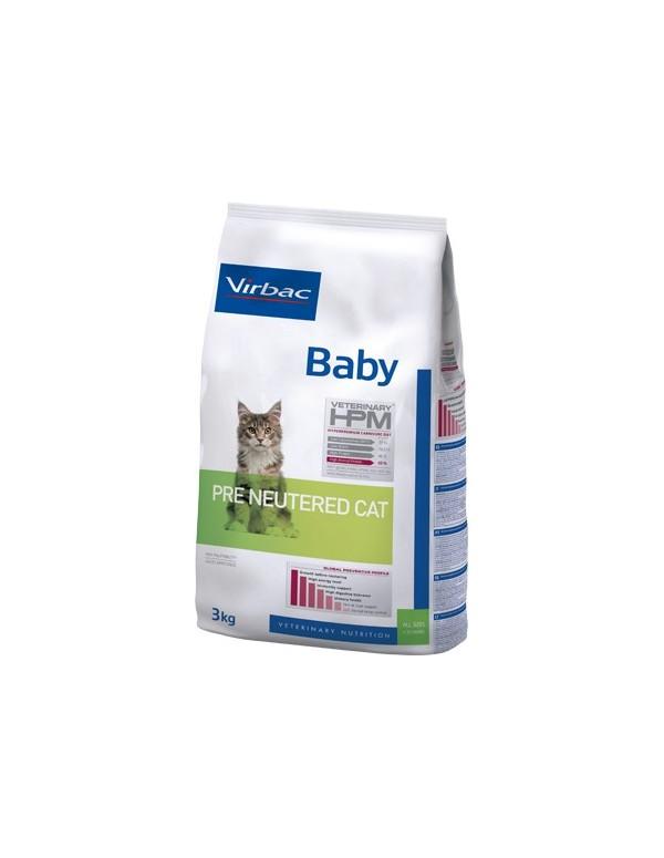 Virbac HPM Baby Pre Neutered Cat Alimento Seco Gato