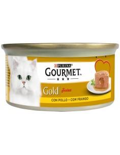 GOURMET Gold Fondant Frango Alimento Humido Gato