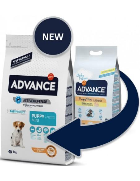 Advance Mini Puppy Alimento Seco Cão