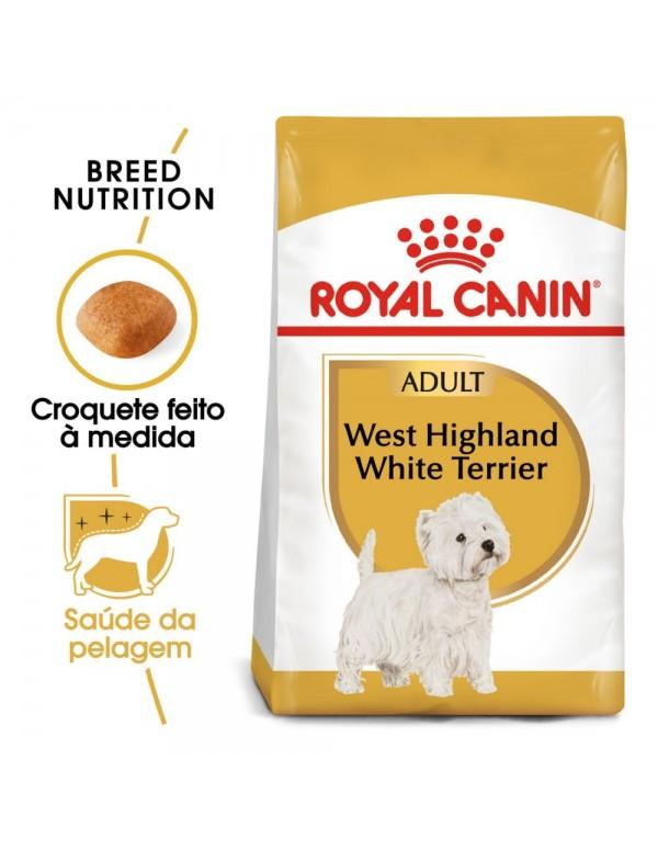 Royal Canin BHN West Highland White Terrier Adult Alimento Seco Cão