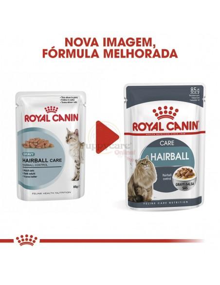 Royal Canin Hairball Care Alimento Húmido Gato Saquetas (Molho)