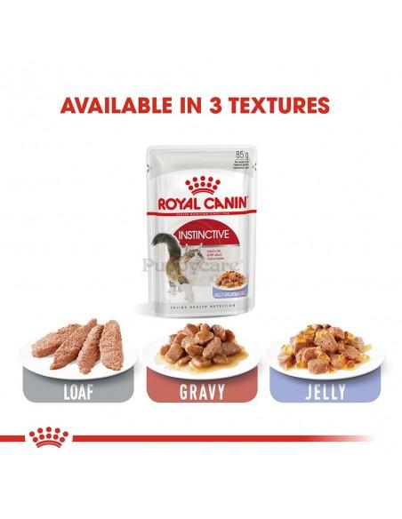 Royal Canin Instinctive Alimento Húmido Gato Saquetas (Jelly)
