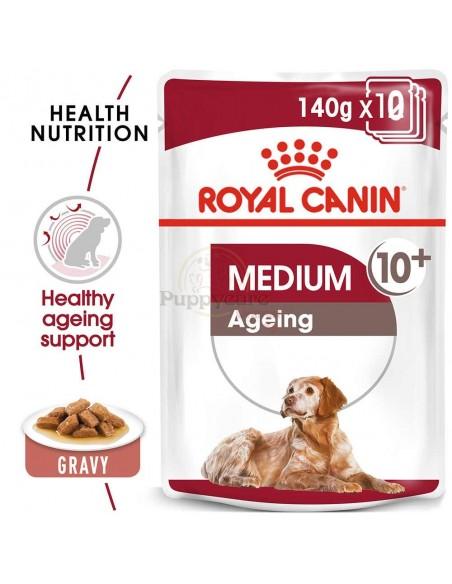 Royal Canin SHN Medium Ageing 10+ Alimento Húmido Cão